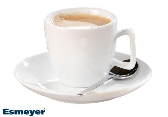 Espresso-Tasse, mit Untertasse, Form CREMA