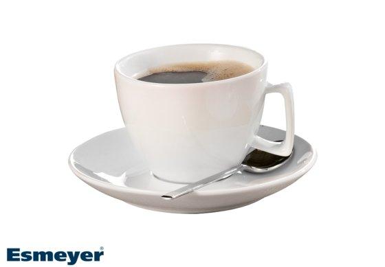 Kaffee-/Cappuccino-Tasse, mit Untertasse, Form CREMA