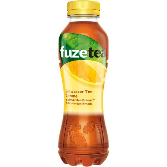 fuzetea Schwarzer Tee Zitrone 400ml